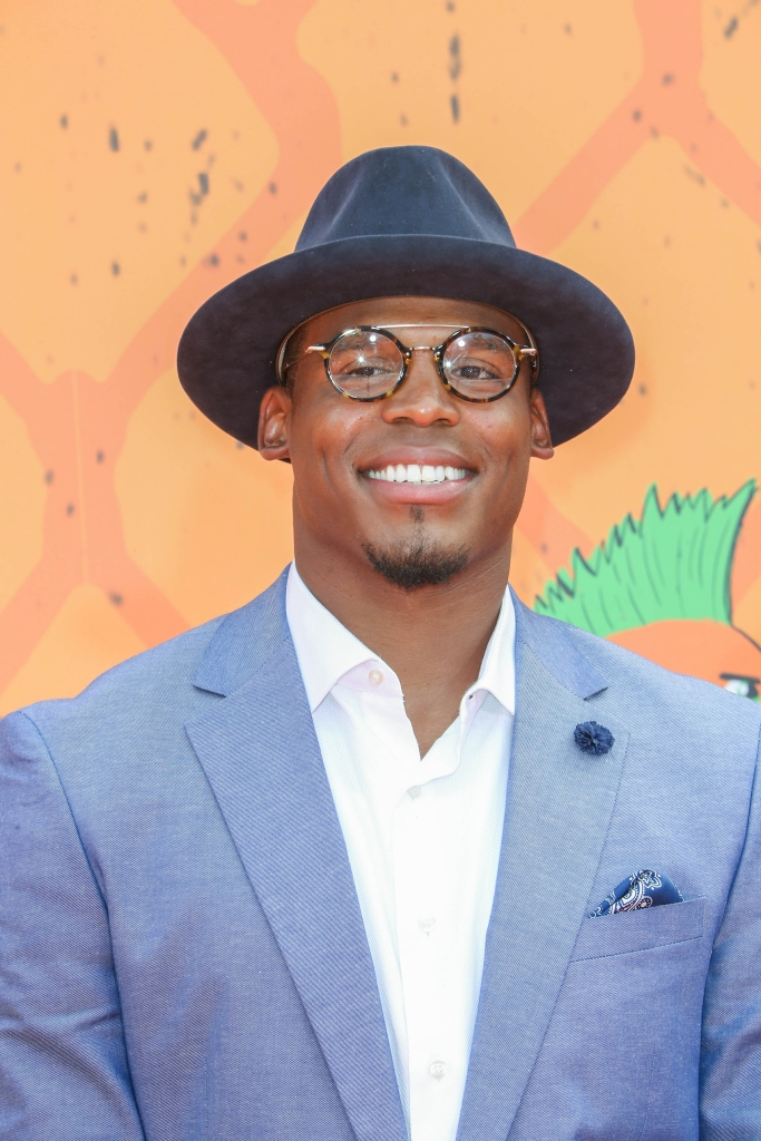 07/14/2016 - Cam Newton - Nickelodeon Kids' Choice Sports Awards 2016 - Arrivals - Pauley Pavilion at UCLA, 301 Strathmore Place - Los Angeles, CA, USA - Keywords: Vertical, Kids' Choice Sports 2016, Nick, Portrait, Arrival, Award, Annual Event, Red Carpet Event, Photography, Arts Culture and Entertainment, Attending, Celebrities, Celebrity, Person, People, Westwood, California Orientation: Portrait Face Count: 1 - False - Photo Credit: PRPhotos.com - Contact (1-866-551-7827) - Portrait Face Count: 1