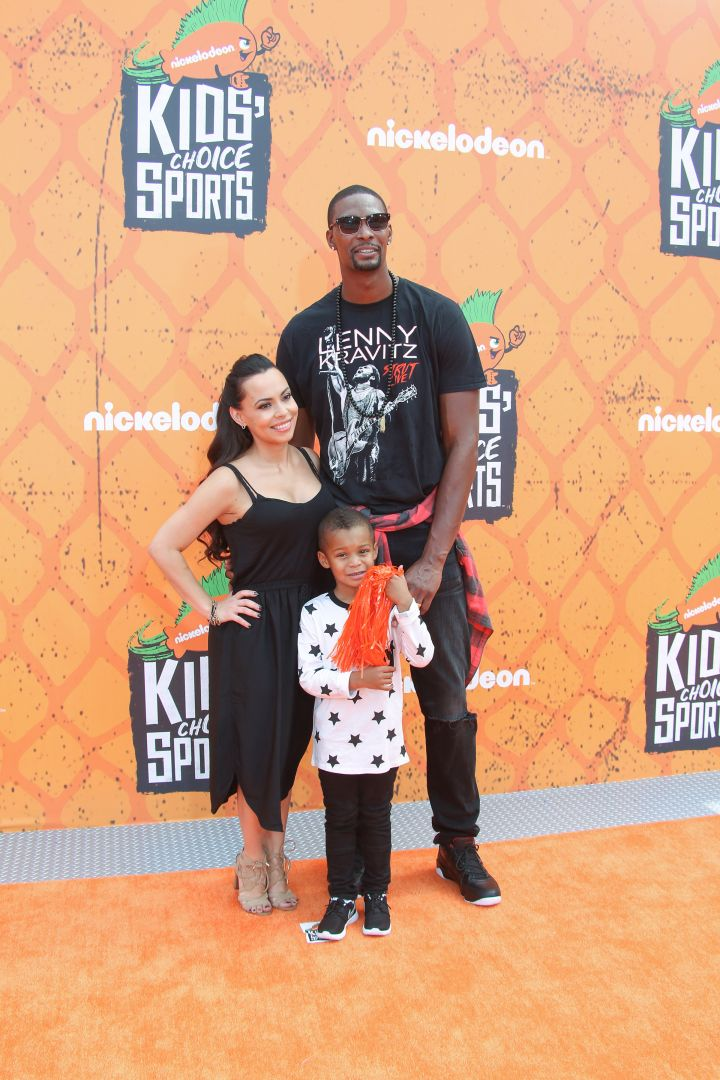 Adrienne, Chris and their oldest son Jackson Bosh