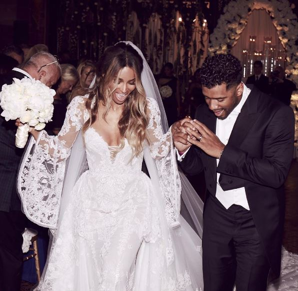 Ciara and Russell Wilson got married.