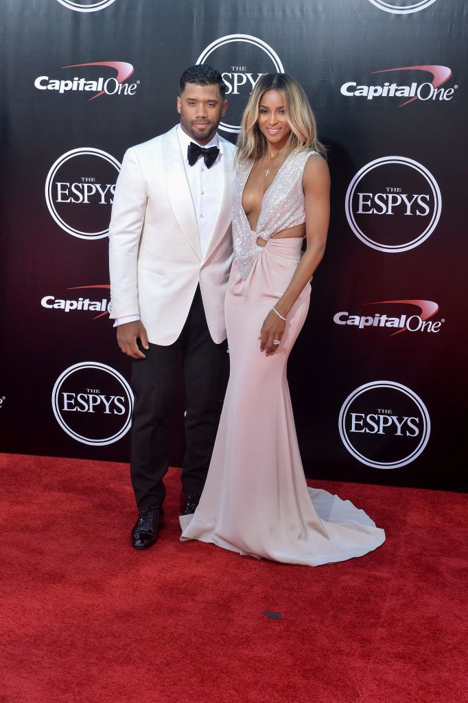 07/13/2016 - Russell Wilson, Ciara - 2016 ESPY Awards - Arrivals - Microsoft Theater, 777 Chick Hearn Court - Los Angeles, CA, USA - Keywords: Vertical, The 2016 ESPYS, ESPN, Sports, Award Show, Portrait, Photography, Adult, Arts Culture and Entertainment, Person, People, Celebrity, Celebrities, Annual Event, Attending, Appearance, Red Carpet Event, Topix, Bestof, Los Angeles, California Orientation: Portrait Face Count: 1 - False - Photo Credit: PRPhotos.com - Contact (1-866-551-7827) - Portrait Face Count: 1