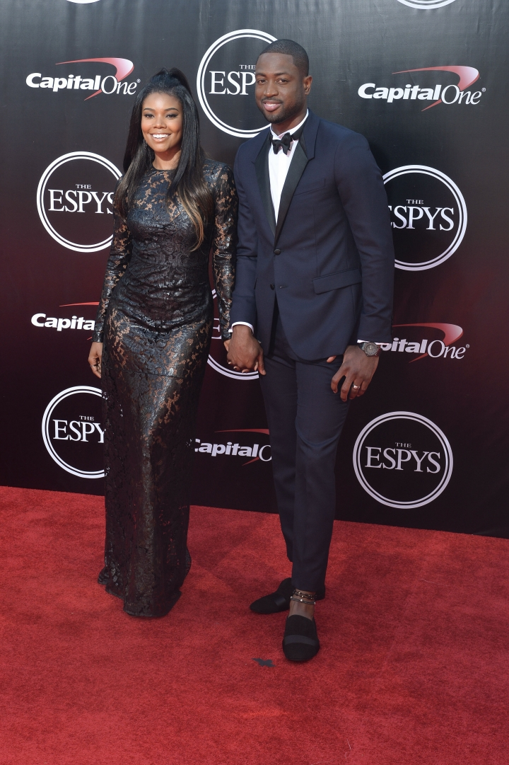 The Wades' fashion sense reached another level this year.