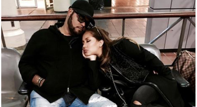 Israel Houghton and Adrienne Bailon got engaged in August