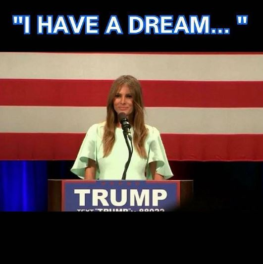 FUNNY! The Best Memes & Tweets About Melania Trump's Speech