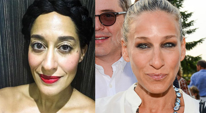 Tracee Ellis Ross and Sarah Jessica Parker