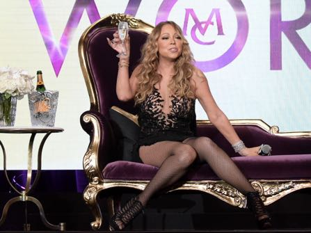 """Mariah Carey participates in the """"Mariah's World"""" panel during the NBC Television Critics Association summer press tour on Wednesday, Aug. 3, 2016, in Beverly Hills, Calif. (Photo by Richard Shotwell/Invision/AP)"""