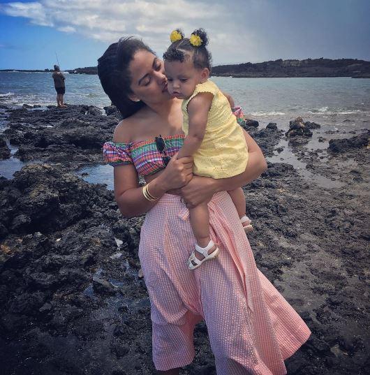 Ayesha Curry in Hawaii