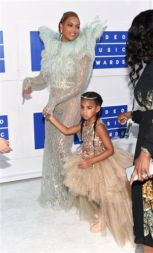 Beyonce and Blue Ivy Carter