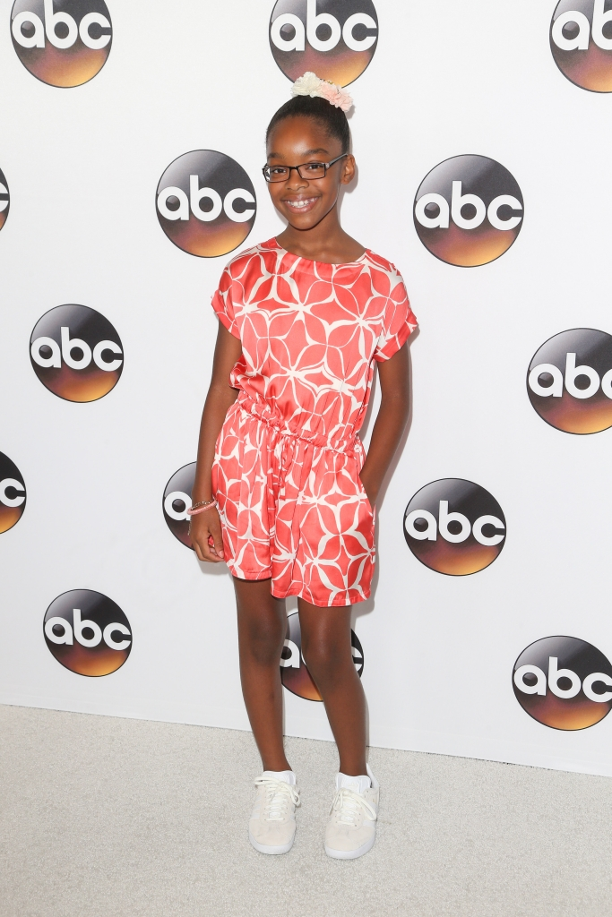 08/04/2016 - Marsai Martin - 2016 Summer TCA Press Tour - Disney/ABC Television Group - Arrivals - The Beverly Hilton Hotel - Beverly Hills, CA, USA - Keywords: Vertical, Radio, Theatrical Performance, Social Event, Television Show, TV Show, Arrival, Portrait, Photography, Red Carpet Event, Annual Event, Arts Culture and Entertainment, Celebrity, Celebrities, Television Critics Association Awards, Person, People, California Orientation: Portrait Face Count: 1 - False - Photo Credit: PRPhotos.com - Contact (1-866-551-7827) - Portrait Face Count: 1