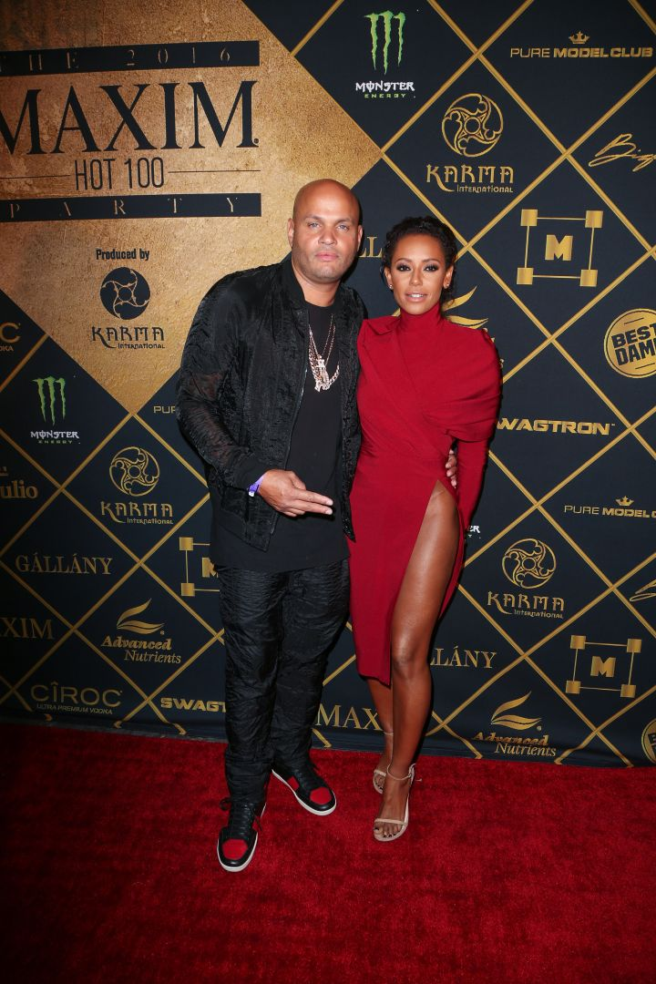 Melanie Brown and husband Stephan