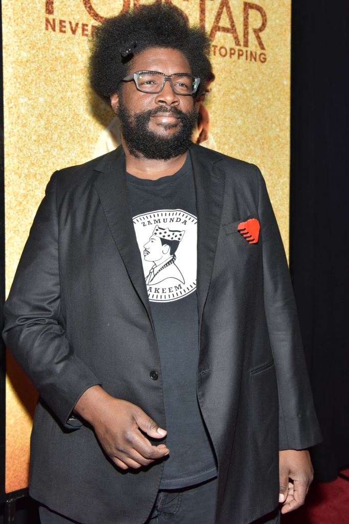 """05/24/2016 - Questlove - """"Popstar: Never Stop Never Stopping"""" New York City Premiere - Arrivals - AMC Loews Lincoln Square 13 Theater - New York City, NY, USA - Keywords: Orientation: Portrait Face Count: 1 - False - Photo Credit: Loredana Sangiuliano / PRPhotos.com - Contact (1-866-551-7827) - Portrait Face Count: 1"""