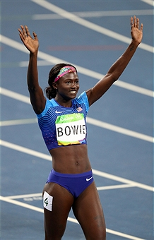 on Day 11 of the Rio 2016 Olympic Games at the Olympic Stadium on August 16, 2016 in Rio de Janeiro, Brazil.