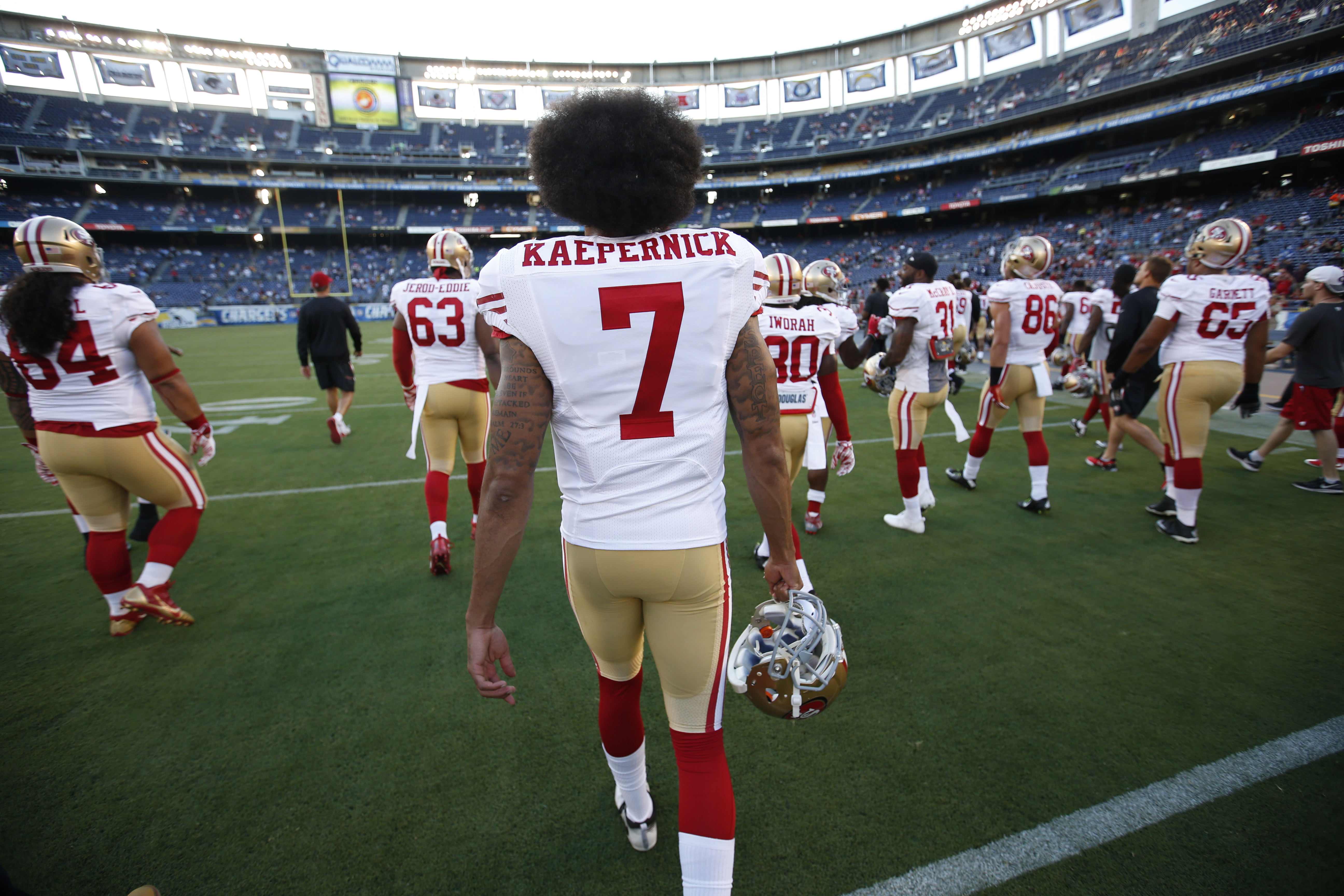San Francisco 49ers v San Diego Chargers