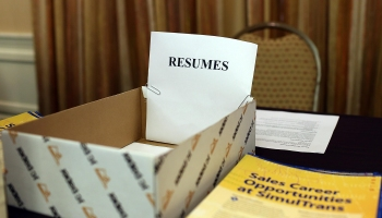 Career Fair Held In San Mateo