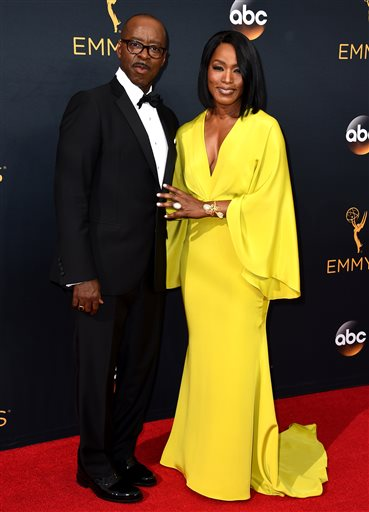 Angela Bassett and Courtney B. Vance supported each other on their respective red carpets all year.