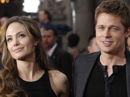 "FILE - In this June 5, 2007 file photo, Brad Pitt, right, a cast member in the film ""Ocean's Thirteen,"" arrives with Angelina Jolie at the premiere of the film at Grauman's Chinese Theatre in Los Angeles. Angelina Jolie Pitt has filed for divorce from Brad Pitt, bringing an end to one of the world's most star-studded, tabloid-generating romances. An attorney for Jolie Pitt, Robert Offer, said Tuesday, Sept. 20, 2016, that she has filed for the dissolution of the marriage. (AP Photo/Chris Pizzello, File)"
