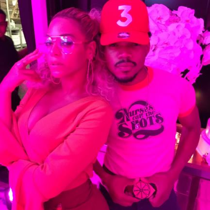 Beyonce and Chance The Rapper