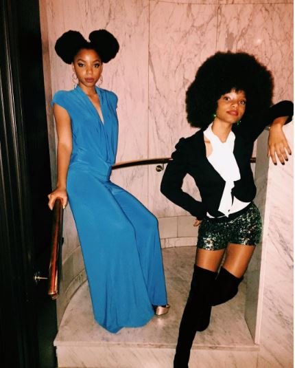 Chloe and Halle