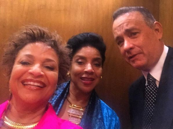Debbie Allen, Phylicia Rashad and Tom Hanks