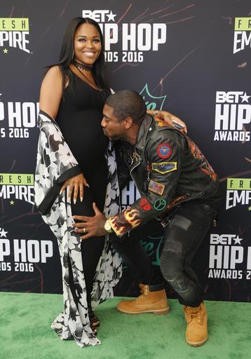 DJ Holiday and wife Ebony