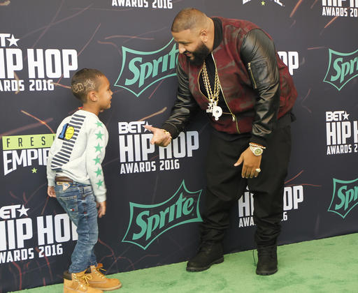 DJ Khaled and Consequence's son