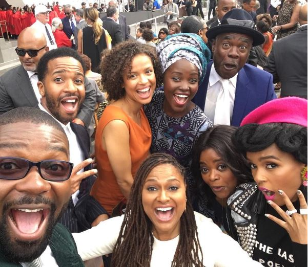 Janelle Monae and her celebrity friends