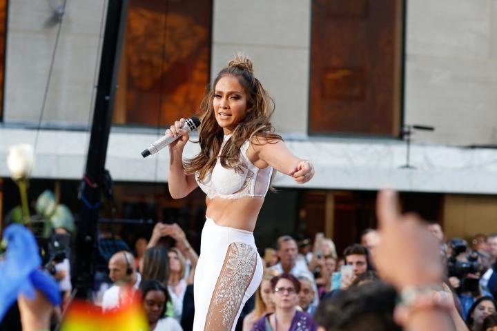 Jennifer Lopez on the Today Show