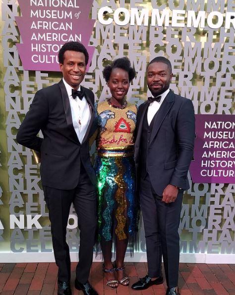 Lupita Noyongo, David Oyelowo and Tendo Nagenda