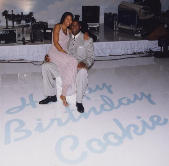 Magic Johnson and Cookie celebrated 25 years of marriage.
