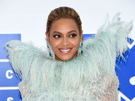 FILE - In this Sunday, Aug. 28, 2016 file photo, Beyonce Knowles arrives at the MTV Video Music Awards at Madison Square Garden, in New York. Even Beyonce needs to slow down every once in a while. Under doctor's orders for vocal rest, the superstar singer has postponed the Sept. 7, 2016, MetLife Stadium stop of her Formation World Tour until October 7, according to a statement Monday. (Photo by Evan Agostini/Invision/AP, File)