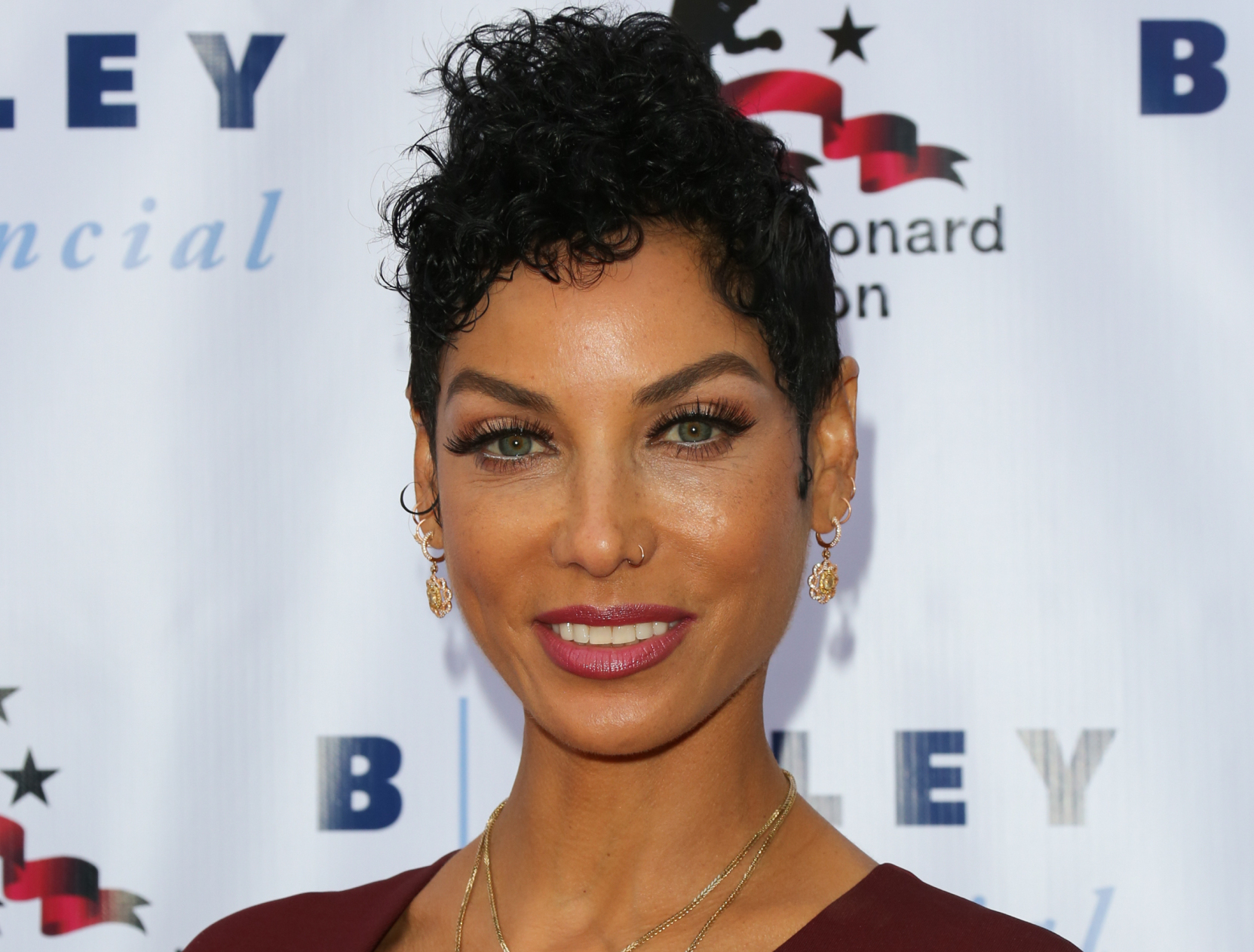 """HOLLYWOOD, CA - MAY 25: Model / TV Personality Nicole Mitchell Murphy attends the 7th annual """"Big Fighters, Big Cause Charity Boxing Night"""" benefiting the Sugar Ray Leonard Foundation at The Ray Dolby Ballroom at Hollywood & Highland Center on May 25, 2016 in Hollywood, California. (Photo by Paul Archuleta/FilmMagic)"""