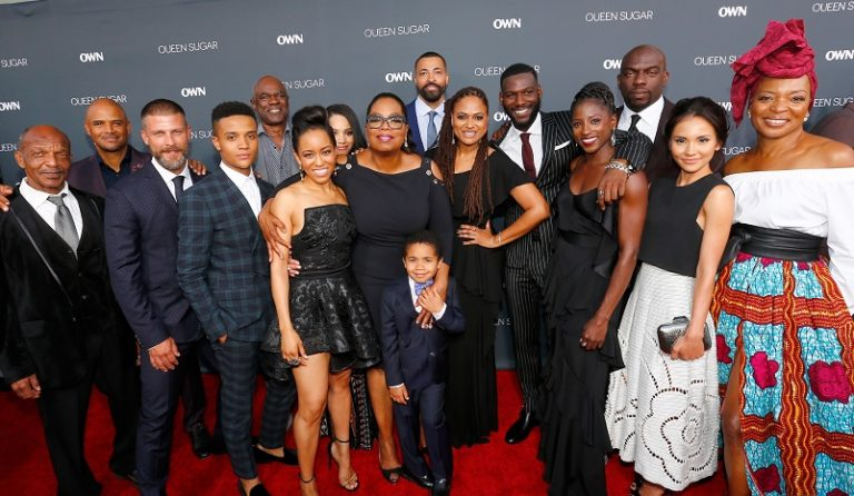 BURBANK, CA - AUGUST 29: Cast and crew attend OWN: Oprah Winfrey Network's Queen Sugar premiere at the Warner Bros. Studio Lot Steven J. Ross Theater on August 29, 2016 in Burbank, California.  (Photo by Mark Davis/WireImage)