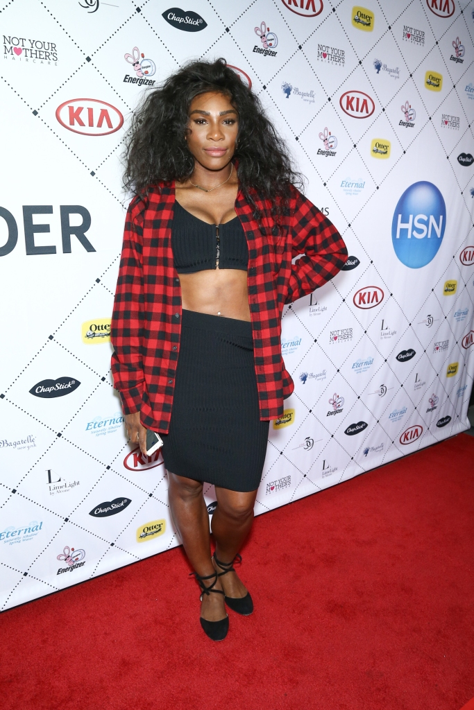09/12/2016 - Serena Wiliams - New York Fashion Week S/S 2017 - Serena Williams Signature Statement Collection After Party - Arrivals - Bagatelle, 1 Little W 12th Street - New York City, NY, USA - Keywords: after party, kia, HSN, tennis, William sisters Orientation: Portrait Face Count: 1 -  - Photo Credit: John Nacion Imaging / PRPhotos.com - Contact (1-866-551-7827) - Portrait Face Count: 1
