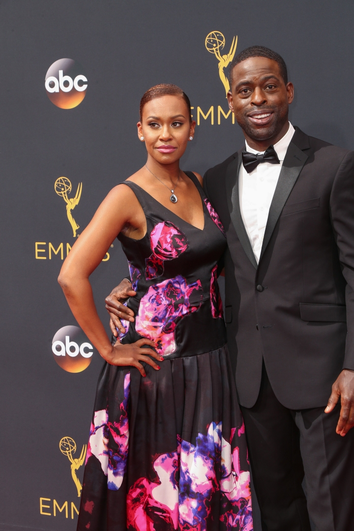 Sterling K. Brown and wife Michelle