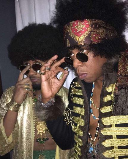 Usher and Jay Z