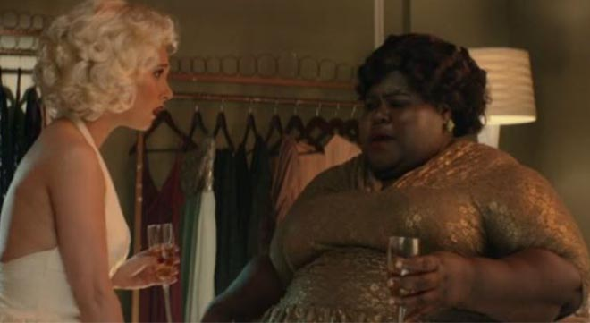 gabourey sidibe plays ella fitzgerald in episode of �drunk