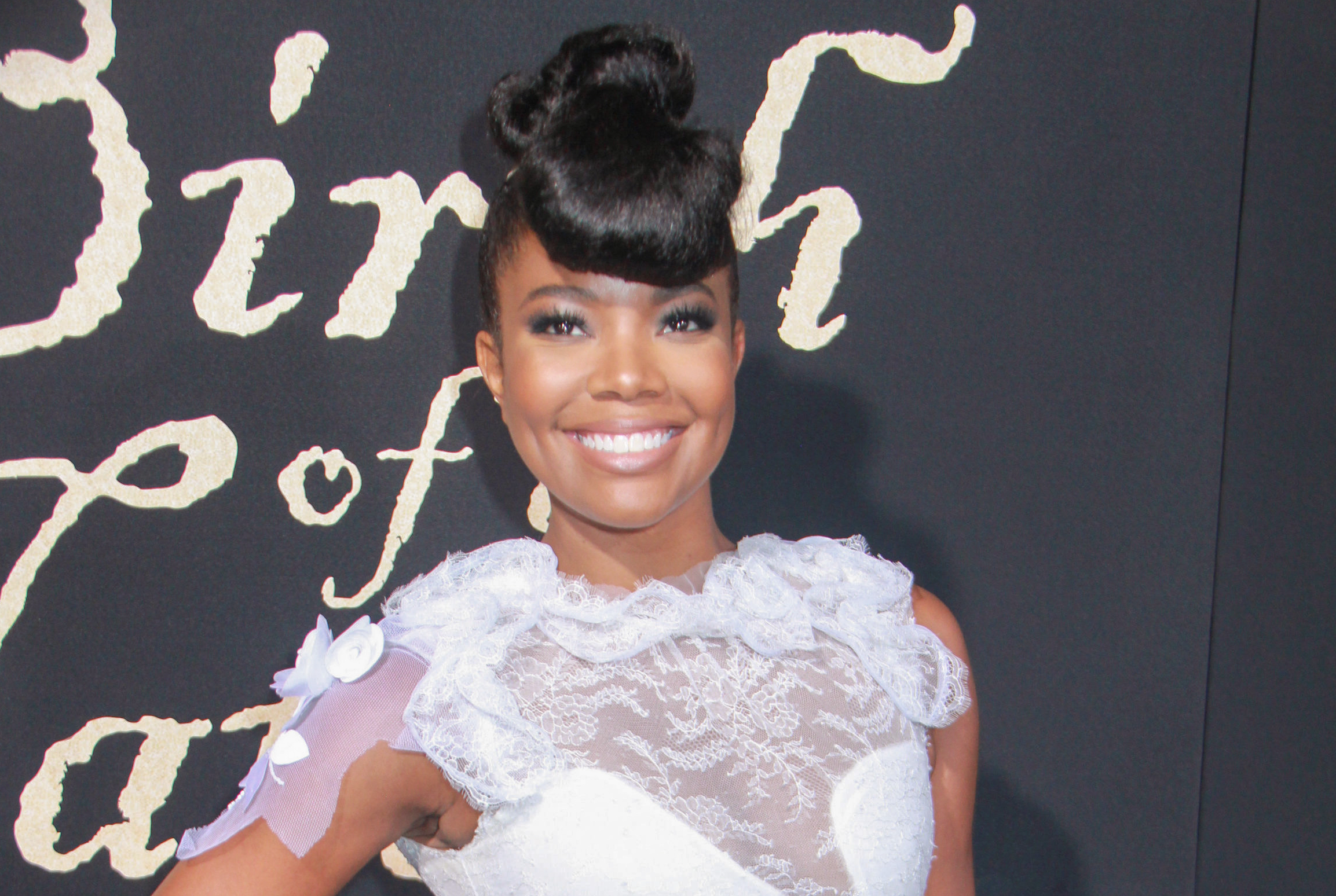 "09/21/2016 - Gabrielle Union - ""The Birth of a Nation"" Los Angeles Premiere - Inside Arrivals - ArcLight Cinemas Cinerama Dome, 6360 Sunset Boulevard - Los Angeles, CA, USA - Keywords: Vertical, Fox Searchlight Pictures, Biography, Drama, Film Premiere, Movie Premiere, Person, People, Celebrity, Celebrities, Portrait, Photography, Red Carpet Event, Arts Culture and Entertainment, Attending, Hollywood, California Orientation: Portrait Face Count: 1 - False - Photo Credit: Izumi Hasegawa / PRPhotos.com - Contact (1-866-551-7827) - Portrait Face Count: 1"