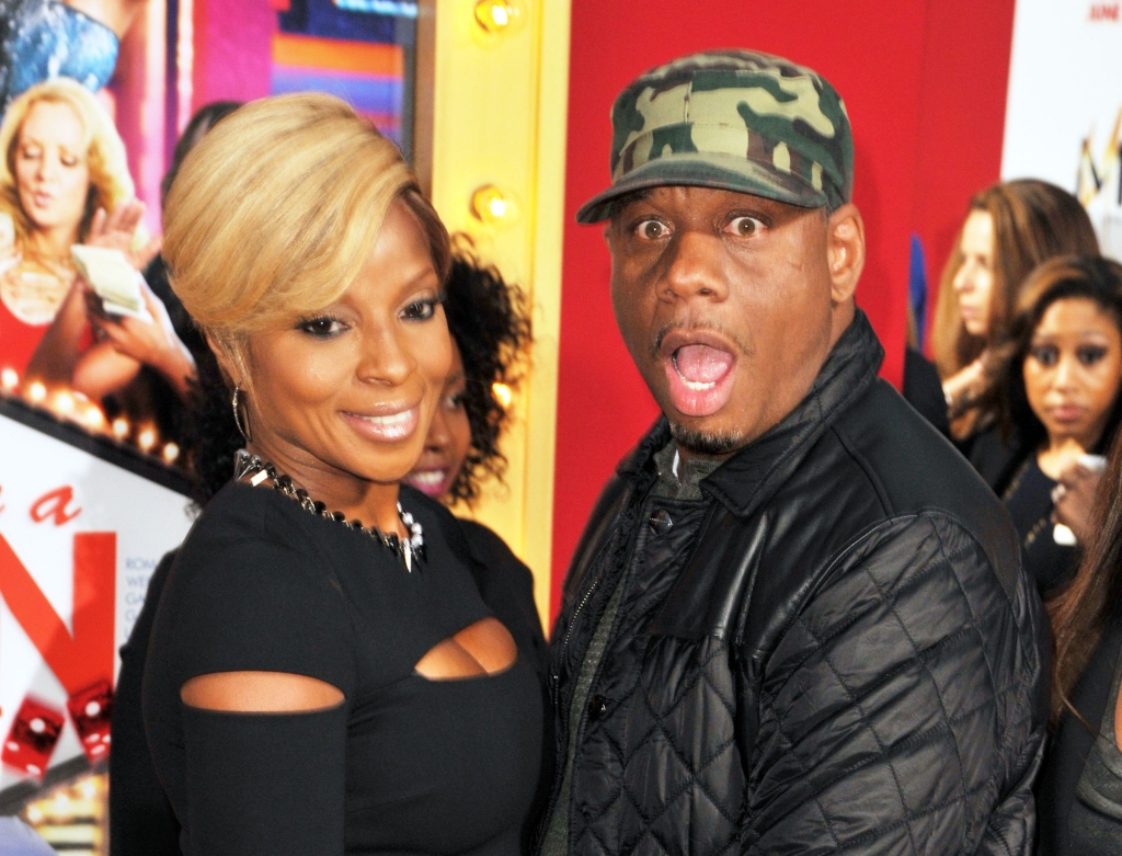 """06/09/2014 - Mary J Blige and Kendu Isaacs - """"Think Like A Man Too"""" Hollywood Premiere - Arrivals - TCL Chinese Theater - Hollywood, CA, USA - Keywords: Orientation: Portrait Face Count: 1 - False - Photo Credit: Koi Sojer / PR Photos - Contact (1-866-551-7827) - Portrait Face Count: 1"""