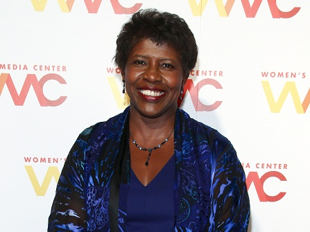 "FILE - In this Nov. 5, 2015 file photo, ""NewsHour"" co-anchor Gwen Ifill attends The Women's Media Center 2015 Women's Media Awards in New York. Ifill died on Monday, Nov. 14, 2016, of cancer, PBS said. She was 61. (Photo by Andy Kropa/Invision/AP, File)"