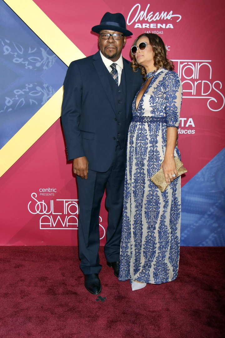 Bobby Brown and wife Alicia