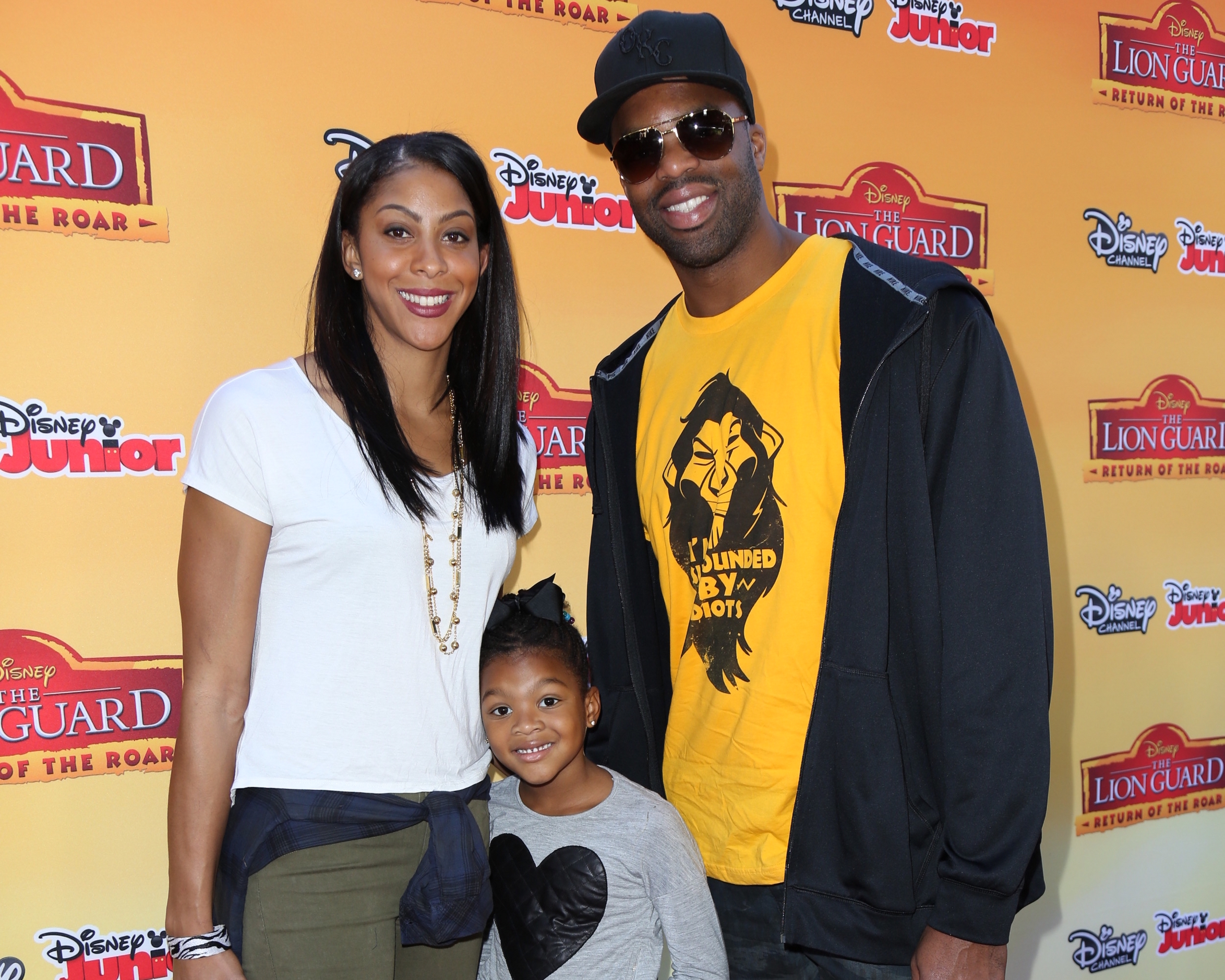 "11/14/2015 - Candace Parker, daughter Lailaa Nicole Williams, husband Shelden Williams - Disney Channel's ""The Lion Guard: Return of the Roar"" TV Movie Premiere - Arrivals - Walt Disney Studios - Burbank, CA, USA - Keywords: WNBA player, Vertical, California, Arrival, Portrait, Photography, Film Industry, Arts Culture and Entertainment, Celebrities, Celebrity, Person, People, Red Carpet Event Orientation: Portrait Face Count: 1 - False - Photo Credit: Guillermo Proano / PR Photos - Contact (1-866-551-7827) - Portrait Face Count: 1"