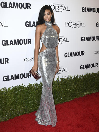 Chanel Iman arrives at the Glamour Women of the Year Awards at NeueHouse Hollywood on Monday, Nov. 14, 2016, in Los Angeles. (Photo by Jordan Strauss/Invision/AP)