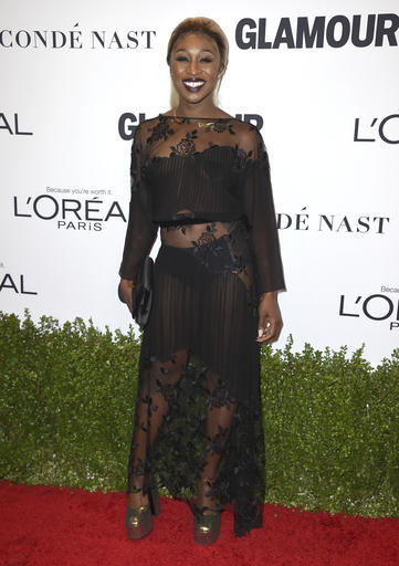 Cynthia Erivo arrives at the Glamour Women of the Year Awards at NeueHouse Hollywood on Monday, Nov. 14, 2016, in Los Angeles. (Photo by Jordan Strauss/Invision/AP)