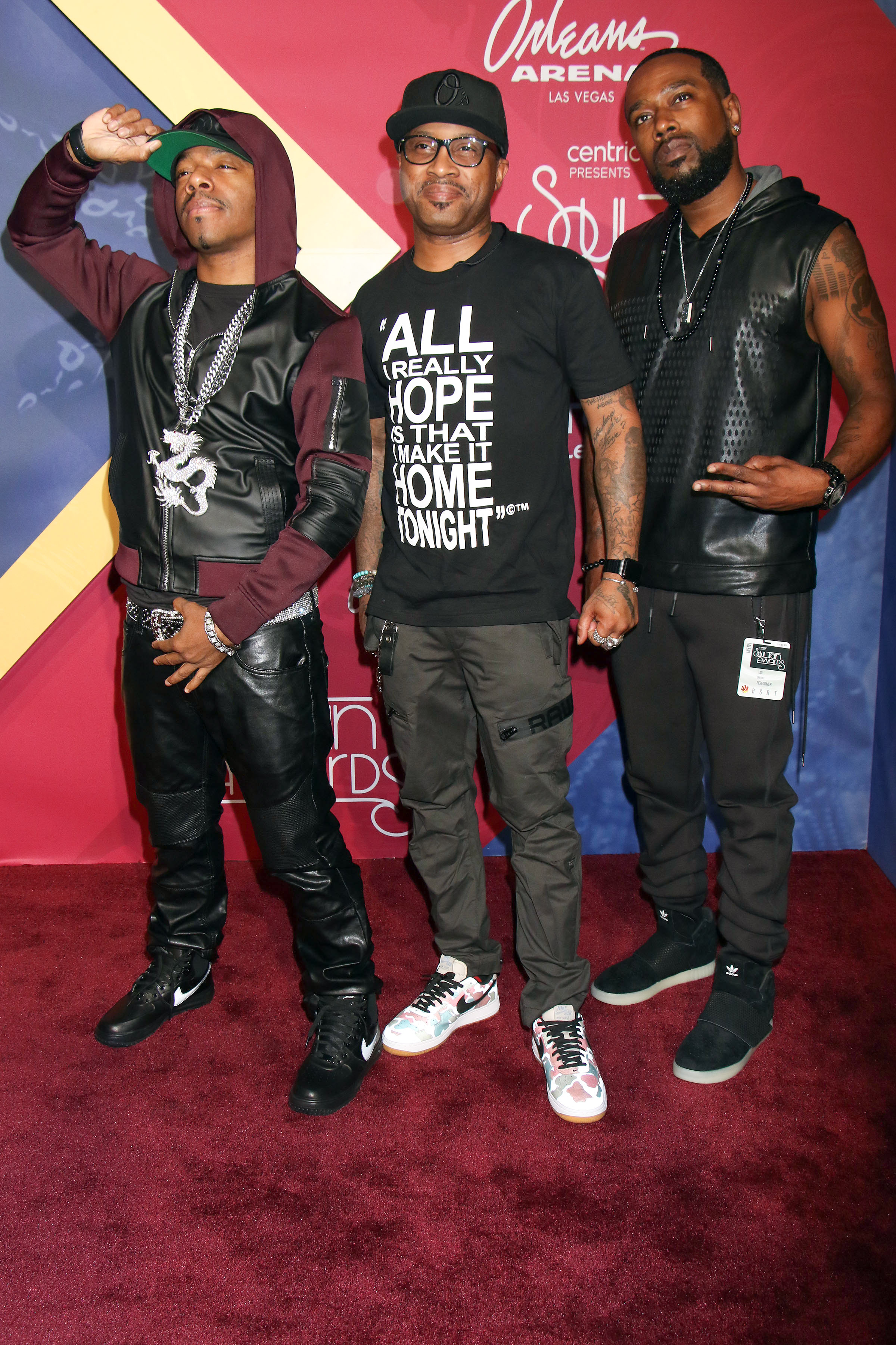 11/06/2016 - Dru Hill - 2016 Soul Train Music Awards - Arrivals - Orleans Arena at the Orleans Hotel & Casino - Las Vegas, NV, USA - Keywords: Sisqo, Nokio the N-Tity, Antwuan Simpson, Tao, Vertical, Award Show, Arrival, Portrait, Photography, Arts Culture and Entertainment, Attending, Person, People, Celebrity, Celebrities, Red Carpet Event, Annual Event, Nevada Orientation: Portrait Face Count: 1 - False - Photo Credit: PRN / PRPhotos.com - Contact (1-866-551-7827) - Portrait Face Count: 1