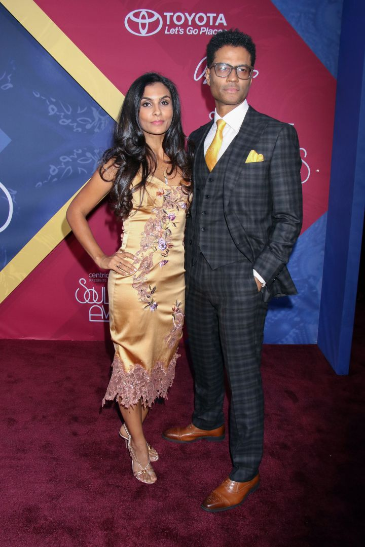 Eric Benet and wife