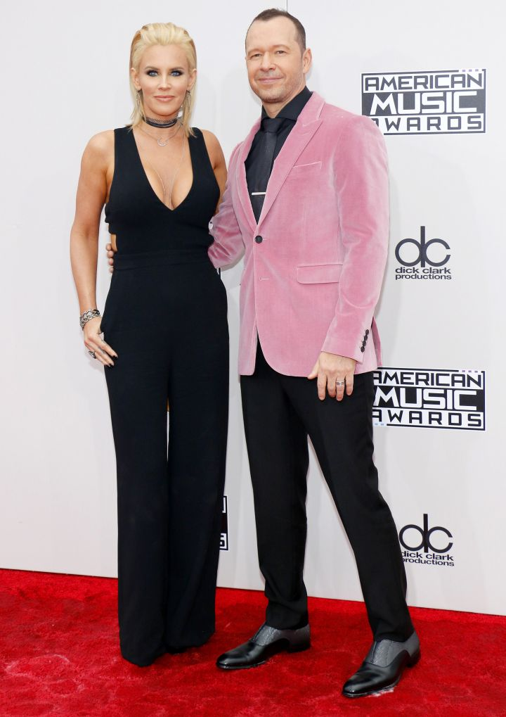 Jenny McCarthy and Donnie Whalberg