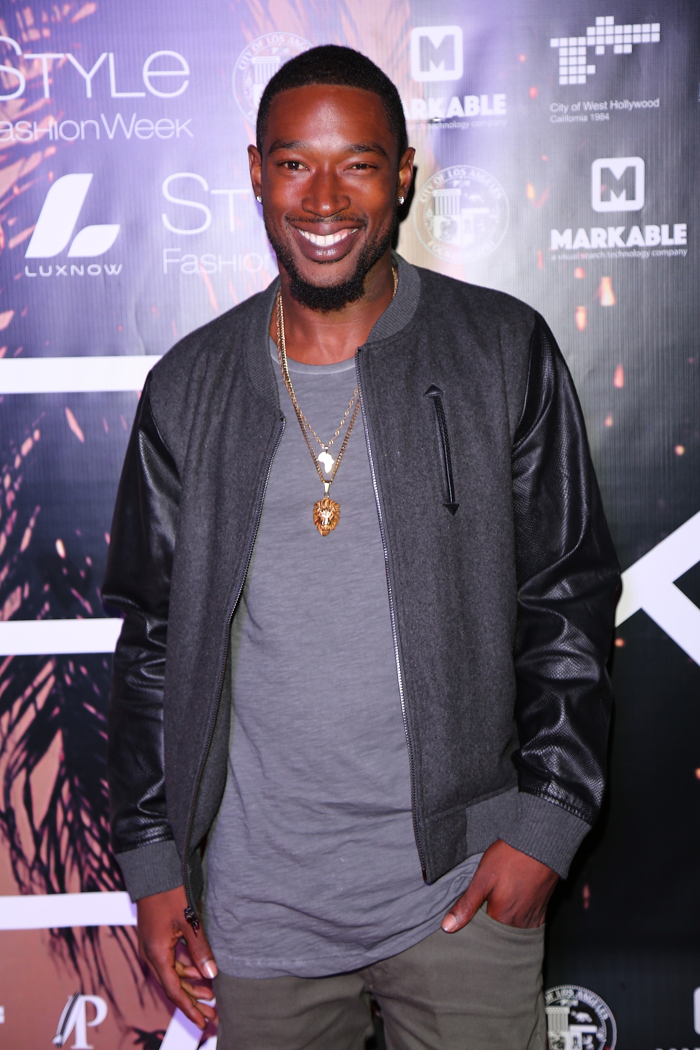 10/14/2016 - Kevin McCall - Style Fashion Week L.A. Spring/Summer 2017 - Arrivals - Specific Design Center - West Hollywood, CA, USA - Keywords: Orientation: Portrait Face Count: 2 - False - Photo Credit: Winston Burris / PR Photos - Contact (1-866-551-7827) - Portrait Face Count: 2
