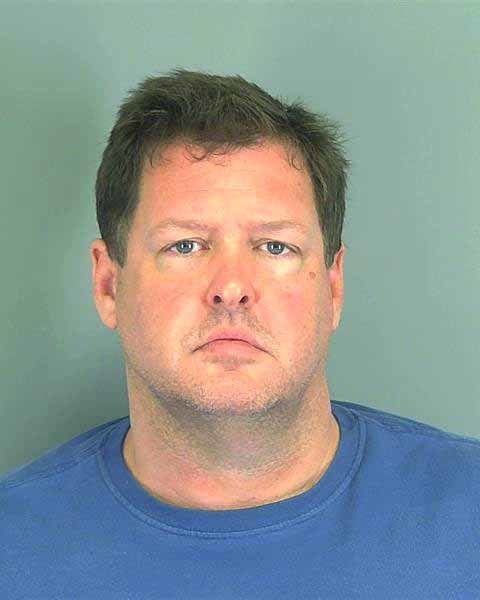 This photo made available by the Spartanburg, S.C., County Sheriff's Office shows Todd Kohlhepp of Moore, S.C. Kohlhepp was arrested Thursday, Nov. 3, 2016, in connection to a woman being found chained inside a storage container on a property in Woodruff, SC.(Spartanburg County Sheriff's Office via AP)
