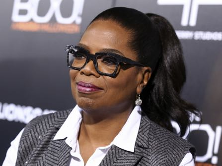 "Oprah Winfrey attends the world premiere of ""BOO! A Madea Halloween"" held at ArcLight Cinerama Dome on Monday, Oct. 17, 2016, in Los Angeles. (Photo by John Salangsang/Invision/AP)"