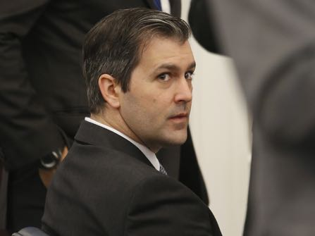 In this Friday, Oct. 28, 2016 photo, Former North Charleston Police Officer Michael Slager sits in the courtroom, in Charleston, S.C. Slager, who turns 35 next month, faces 30 years to life in prison if convicted in the April 2015 death of 50-year-old Walter Scott. The requests are among a flurry of motions attorneys for Michael Slager have filed in recent days. Jury selection begins next Monday, Oct 31, 2016, in Slager's murder trial. (Grace Beahm/Post and Courier via AP, Pool, File)