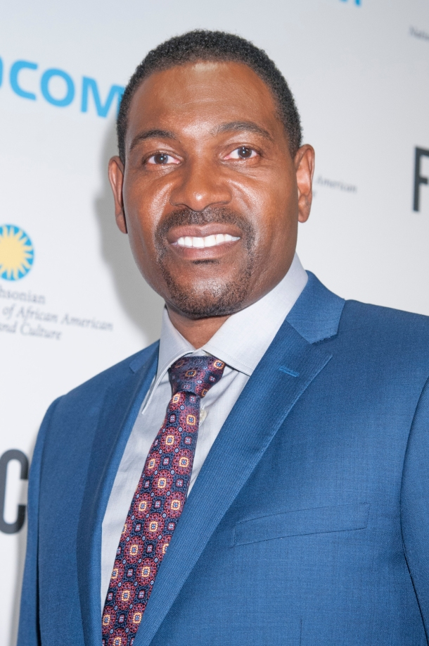 WASHINGTON DC - DEC 6: Mykelti Williamson attends a special screening of Paramount Pictures' new movie FENCES at The National Museum of African-American History and Culture on December 6th, 2016 in Washington DC. (Photo by Kris Connor for Paramount Pictures)